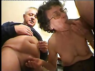 Granny Helen 82 years blowjob part 1