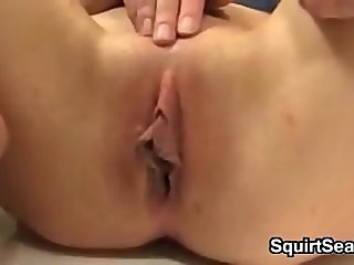 Teen Masturbating And Squirting