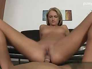 Sexy blonde gets fucked