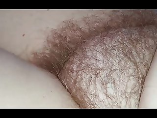 wifes sexy feet, hairy pussy & soft belly