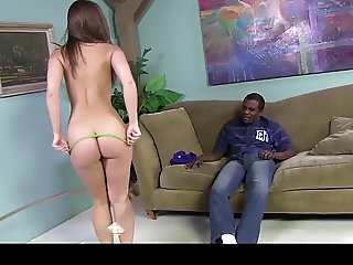 White slut with gets a BBC and 3 extra loads