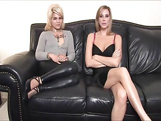 2 girls humiliate loser