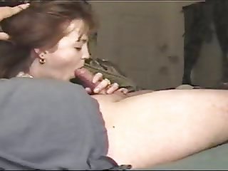 Wife loves sucking cock