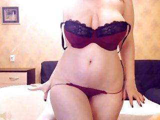 Russian Webcam Model Teaseing