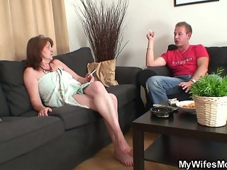 He fucks old girlfriends mother