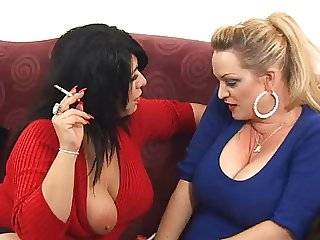 mandy and friend smoking