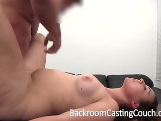 Curvy Amateur's First Blowjob