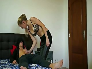 Blonde college girl loves cock in her pussy