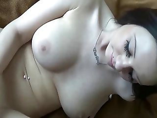 Cute girl satisfied her craving for dick
