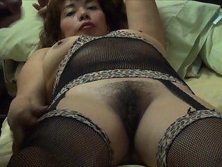 Fucksme with my black lingerie and photos.
