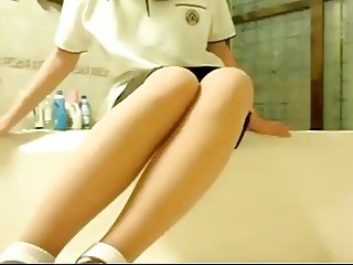 Young asian girl masturbation