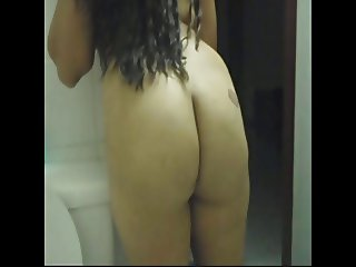 Thai Granny showing Enormous Ass