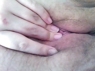 Touching My pussy