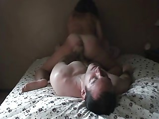 My wife riding me