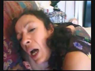 Arab Fr Beurette Hairy Old Maid Cleans 2 Men