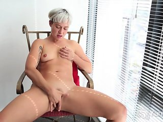 Small Breasted Steel Fingering Her Pussy