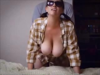 Amateur with big Tits Penetrated from Behind