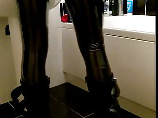 Hot cd latex tight shiny broek