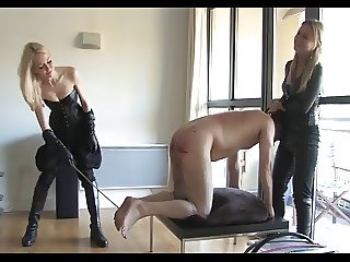 Two mistresses test the limits of the slave