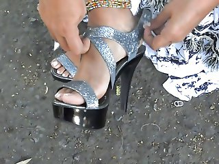 Foot fetish, Stilettos, Platform Shoes, High Heels 36