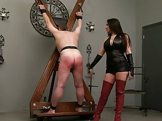 Whipped by dominant mistress
