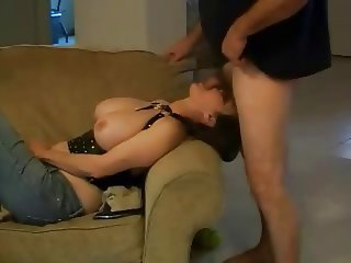 Busty wife and horny hubby