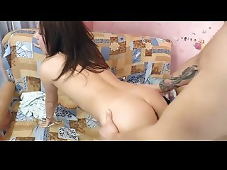 Hairy Girl Nicely Fucked