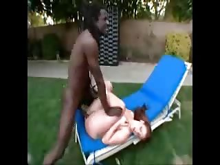 White Girl with Big Booty get Fucked by Black Dude