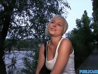 PublicAgent Cute short haired blonde fucked