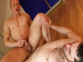 Hot golden shower duo