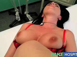 FakeHospital - Busty sexy milf gets fucked