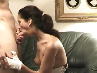 A maid homemade role playing