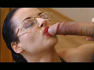 Facial on glasses
