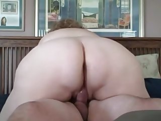 wife fucking me cowgirl,she needs a cock in her ass