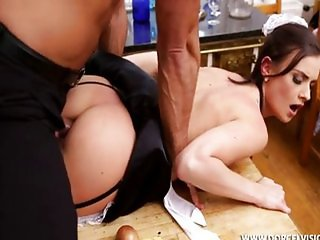 Maid in the kitchen