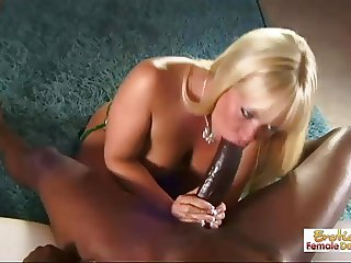 Austin Taylor is a bubble butt milf in love with black cock