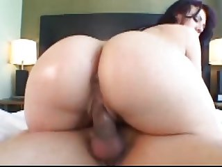 Ava Rose gets her BIG ASS oiled, groped and FUCKED!