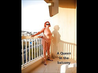 A QUEEN ON THE BALCONY