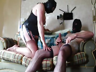 Master &  Bitch in Fully Fashioned Nylons 2.