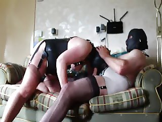 Master &  Bitch in Fully Fashioned Nylons 3