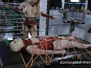 Dominated-Men.com - Face Fucking and Cock Slapping