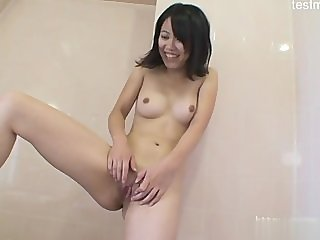 Horny daughter cum gag