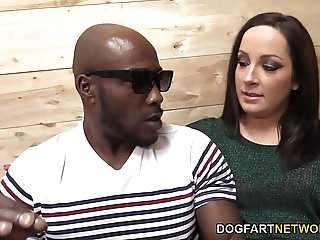 Marley Blaze Does Her First Interracial Anal