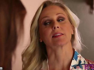 BSkow Julia Ann Caught by Step-Daughter