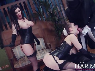 HarmonyVision Samantha Bentley anal threesome