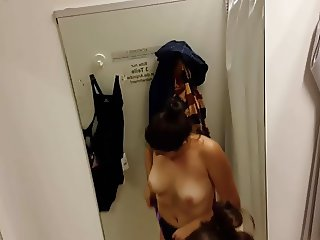German Hidden Spy Cam Voyeur Changing Room 1