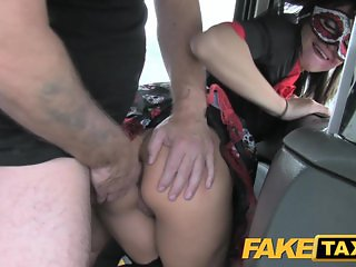 Fake Taxi Hot Anal in Halloween costume