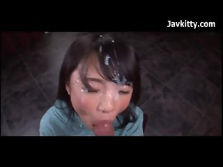 Asian Teen Cum Facial - Japanese