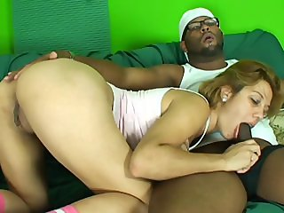 She loves riding that thick brazilian dick
