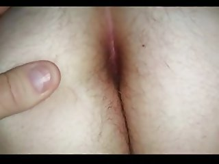 wifes hairy asshole winking at us